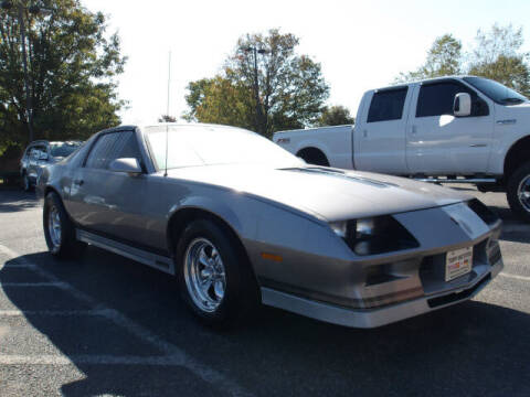 1983 Chevrolet Camaro for sale at TAPP MOTORS INC in Owensboro KY