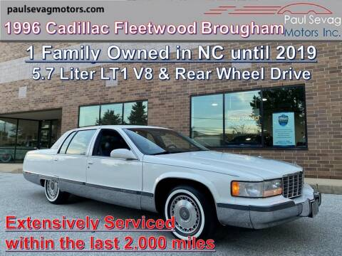 1996 Cadillac Fleetwood for sale at Paul Sevag Motors Inc in West Chester PA