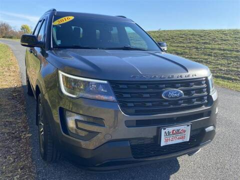2016 Ford Explorer for sale at Mr. Car LLC in Brentwood MD
