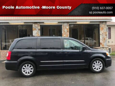 2014 Chrysler Town and Country for sale at Poole Automotive in Laurinburg NC