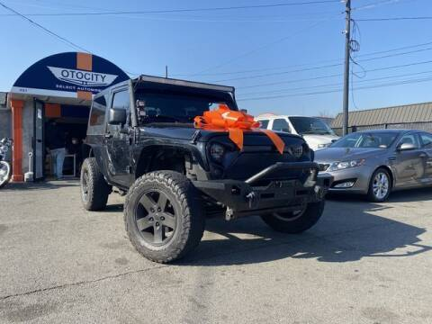 2014 Jeep Wrangler for sale at OTOCITY in Totowa NJ