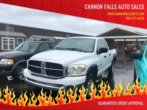 2007 Dodge Ram Pickup 1500 for sale at Cannon Falls Auto Sales in Cannon Falls MN