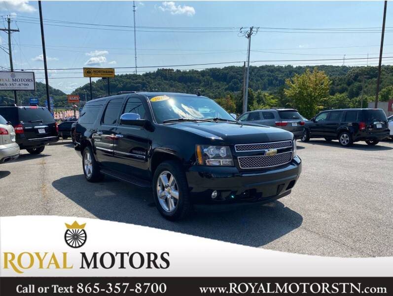 2010 Chevrolet Suburban for sale at ROYAL MOTORS LLC in Knoxville TN