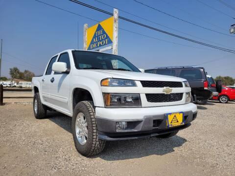 2012 Chevrolet Colorado for sale at Auto Depot in Carson City NV