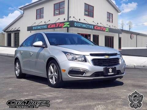 2015 Chevrolet Cruze for sale at Distinctive Car Toyz in Egg Harbor Township NJ
