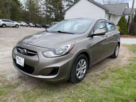 2013 Hyundai Accent for sale at Williston Economy Motors in Williston VT