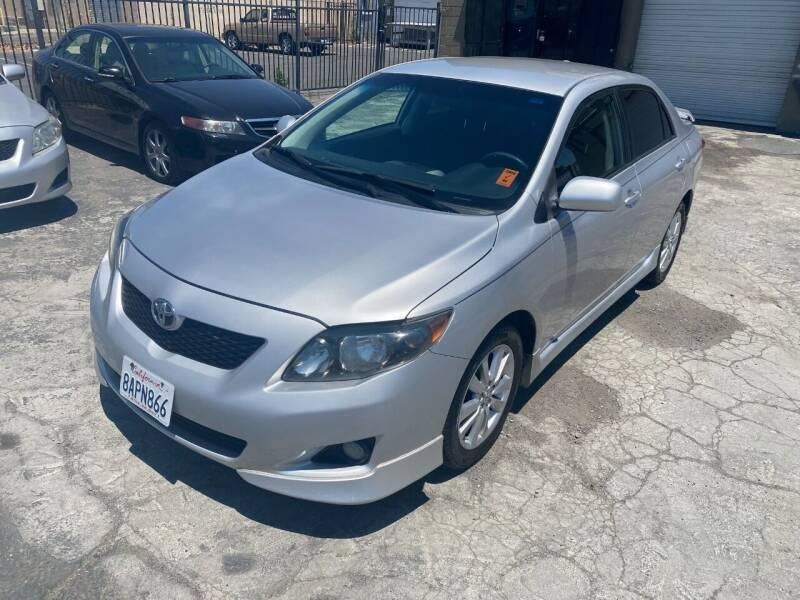 2010 Toyota Corolla for sale at 101 Auto Sales in Sacramento CA