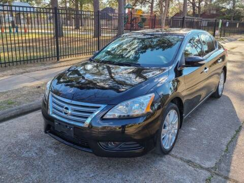 2015 Nissan Sentra for sale at Amazon Autos in Houston TX