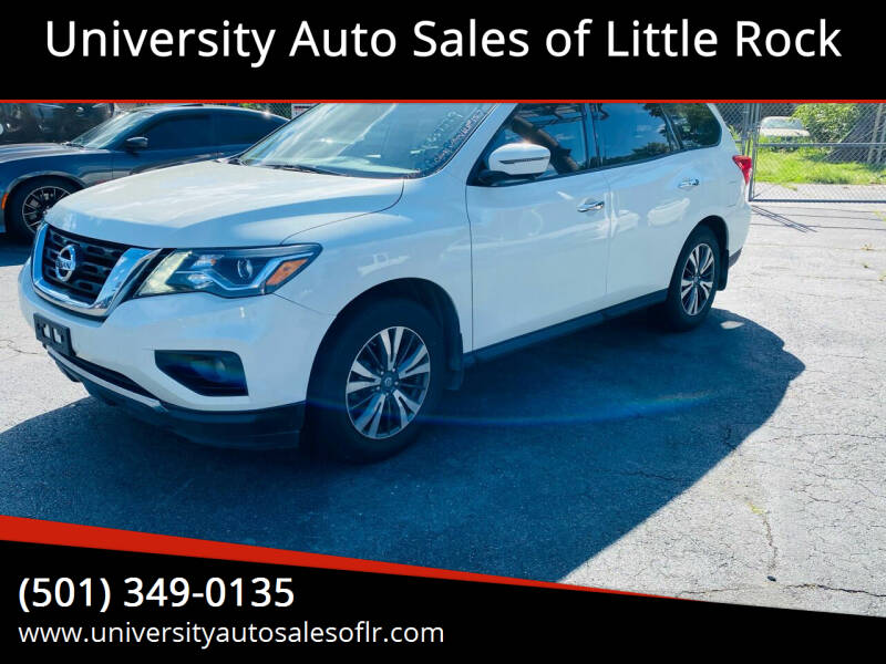 2017 Nissan Pathfinder for sale at University Auto Sales of Little Rock in Little Rock AR