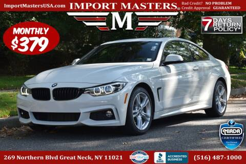 2020 BMW 4 Series for sale at European Masters in Great Neck NY