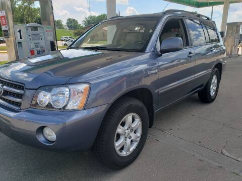 2003 Toyota Highlander for sale at Gordon Auto Sales LLC in Sioux City IA