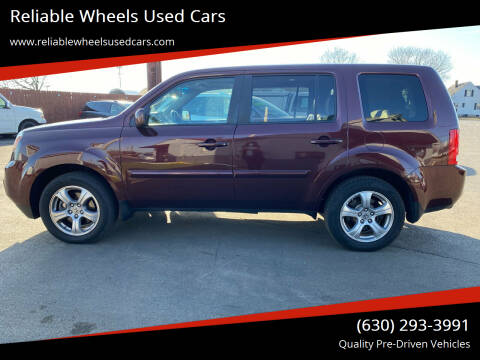 2012 Honda Pilot for sale at Reliable Wheels Used Cars in West Chicago IL