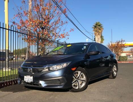 2016 Honda Civic for sale at LUGO AUTO GROUP in Sacramento CA