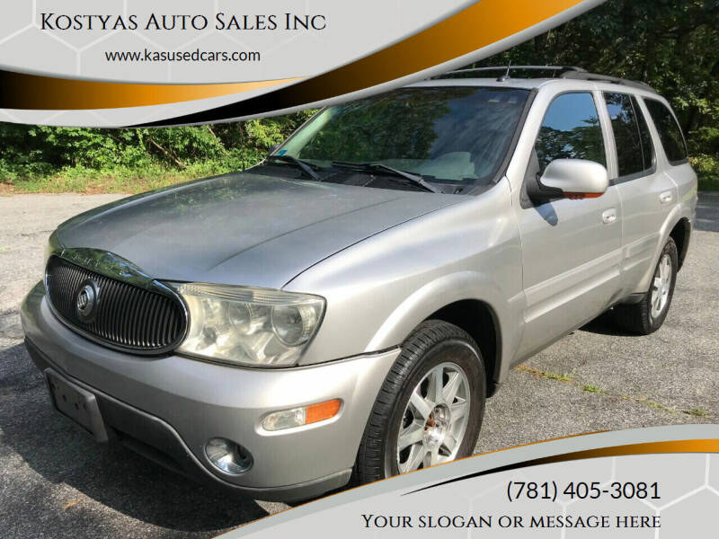 2004 Buick Rainier for sale at Kostyas Auto Sales Inc in Swansea MA