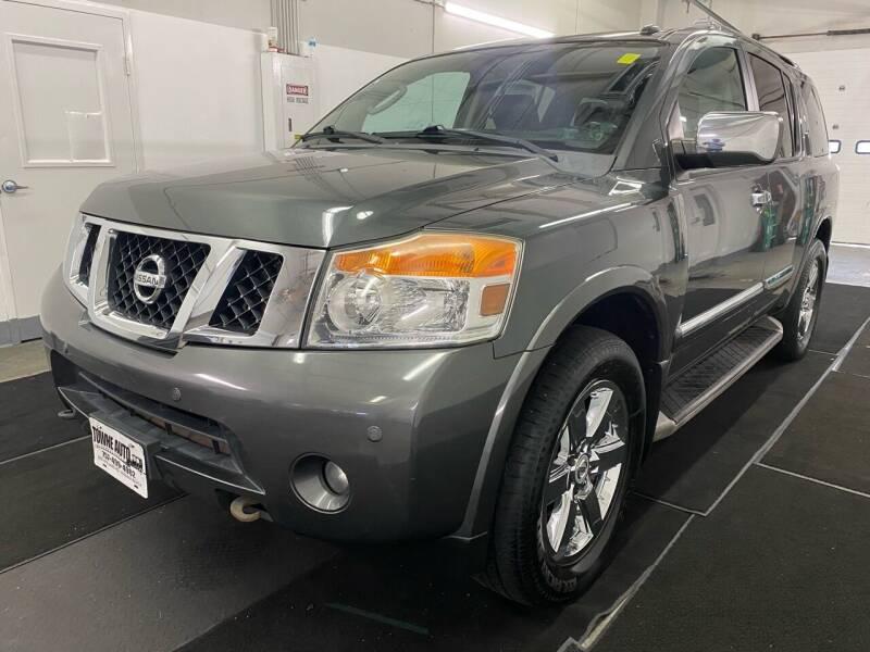 2012 Nissan Armada for sale at TOWNE AUTO BROKERS in Virginia Beach VA