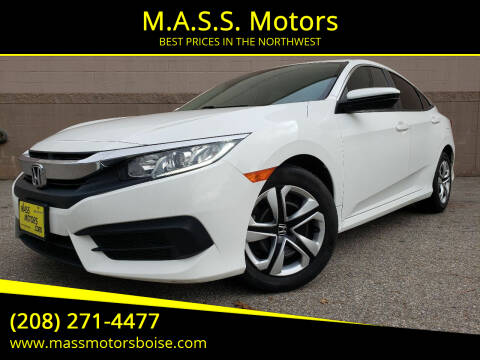 2017 Honda Civic for sale at M.A.S.S. Motors in Boise ID