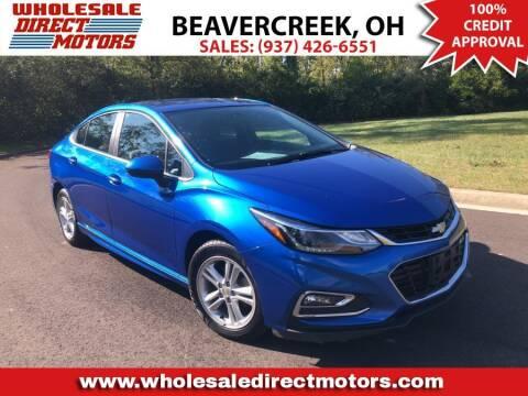2017 Chevrolet Cruze for sale at WHOLESALE DIRECT MOTORS in Beavercreek OH