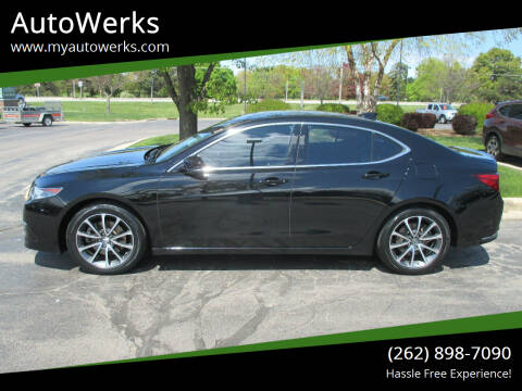 2016 Acura TLX for sale at AutoWerks in Sturtevant WI