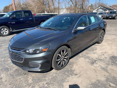 2016 Chevrolet Malibu for sale at PAPERLAND MOTORS - Fresh Inventory in Green Bay WI