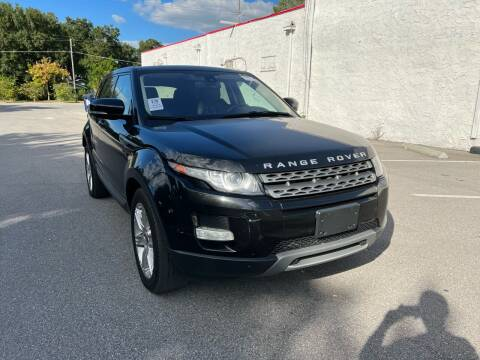 2012 Land Rover Range Rover Evoque for sale at LUXURY AUTO MALL in Tampa FL