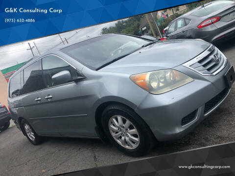 2010 Honda Odyssey for sale at G&K Consulting Corp in Fair Lawn NJ