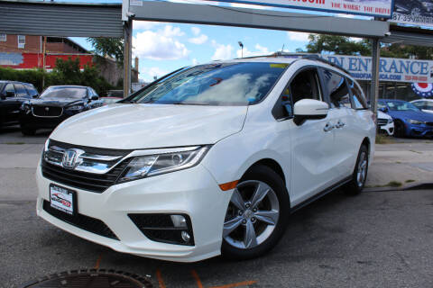 2018 Honda Odyssey for sale at MIKEY AUTO INC in Hollis NY