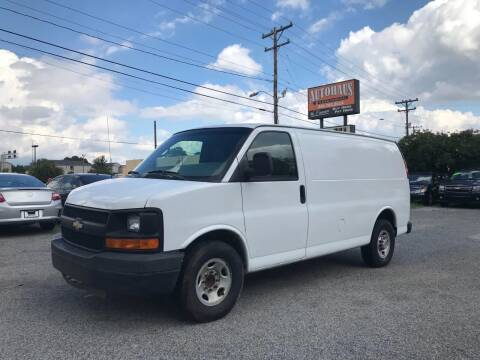 2007 Chevrolet Express Cargo for sale at Autohaus of Greensboro in Greensboro NC