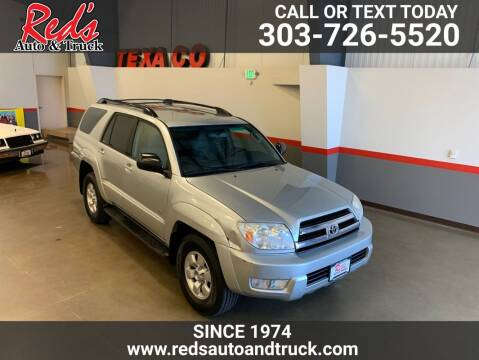 2005 Toyota 4Runner for sale at Red's Auto and Truck in Longmont CO