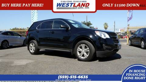 2013 Chevrolet Equinox for sale at Westland Auto Sales on 7th in Fresno CA