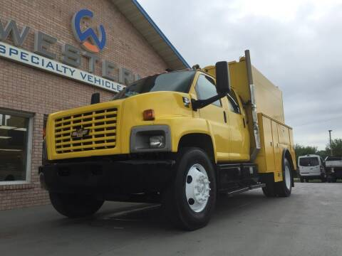 2007 Chevrolet C7500 KUV Service Truck for sale at Western Specialty Vehicle Sales in Braidwood IL
