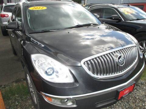 2012 Buick Enclave for sale at GMA Of Everett in Everett WA