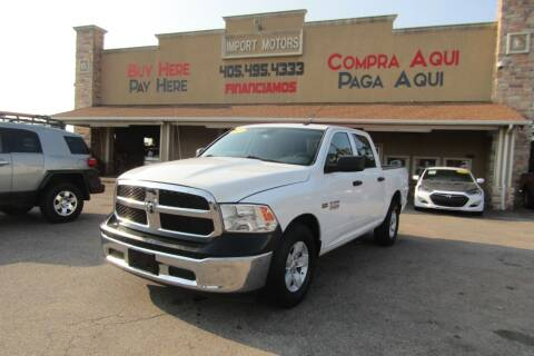2017 RAM Ram Pickup 1500 for sale at Import Motors in Bethany OK