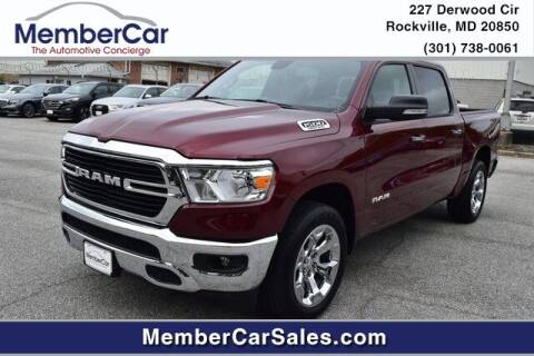 2019 RAM Ram Pickup 1500 for sale at MemberCar in Rockville MD