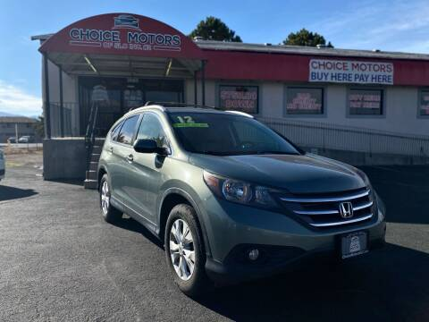 2012 Honda CR-V for sale at Choice Motors of Salt Lake City in West Valley  City UT