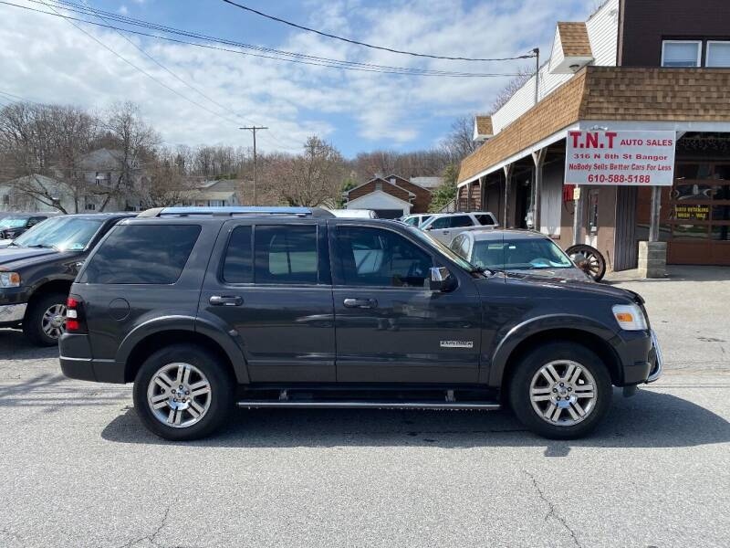 2007 Ford Explorer for sale at TNT Auto Sales in Bangor PA