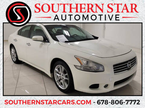 2011 Nissan Maxima for sale at Southern Star Automotive, Inc. in Duluth GA