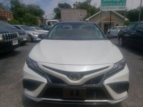 2021 Toyota Camry for sale at Murrays Used Cars Inc in Baltimore MD
