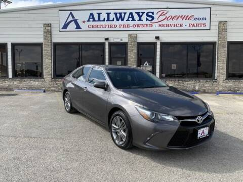 2016 Toyota Camry for sale at ATASCOSA CHRYSLER DODGE JEEP RAM in Pleasanton TX