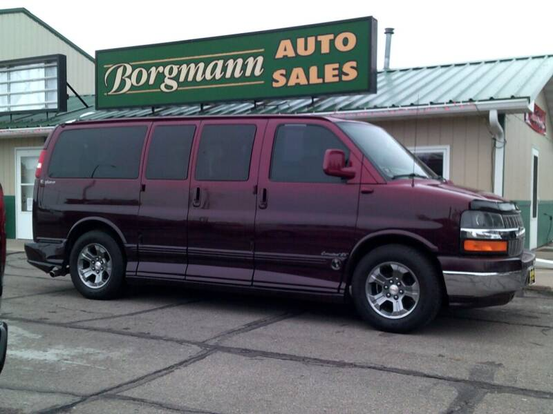 2006 Chevrolet Express Cargo for sale at Borgmann Auto Sales in Norfolk NE