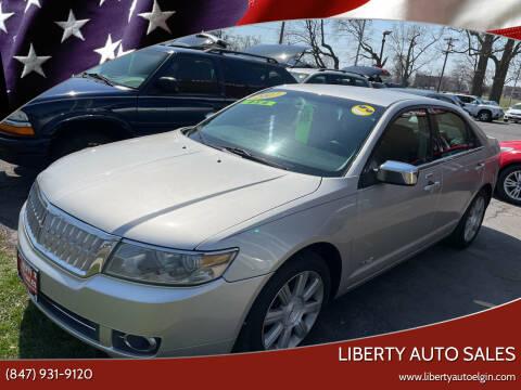 2007 Lincoln MKZ for sale at Liberty Auto Sales in Elgin IL