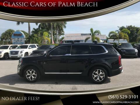 2020 Kia Telluride for sale at Classic Cars of Palm Beach in Jupiter FL