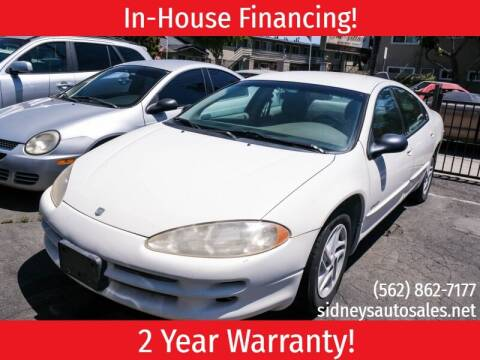 2001 Dodge Intrepid for sale at Sidney Auto Sales in Downey CA