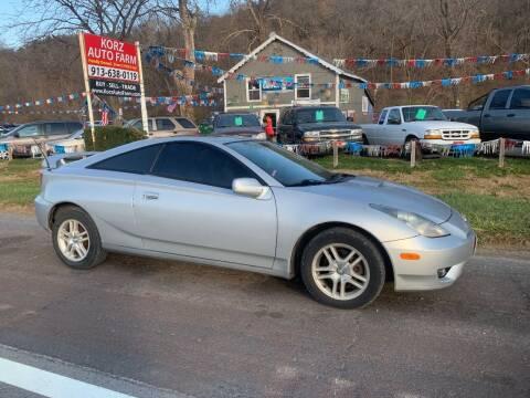 2003 Toyota Celica for sale at Korz Auto Farm in Kansas City KS