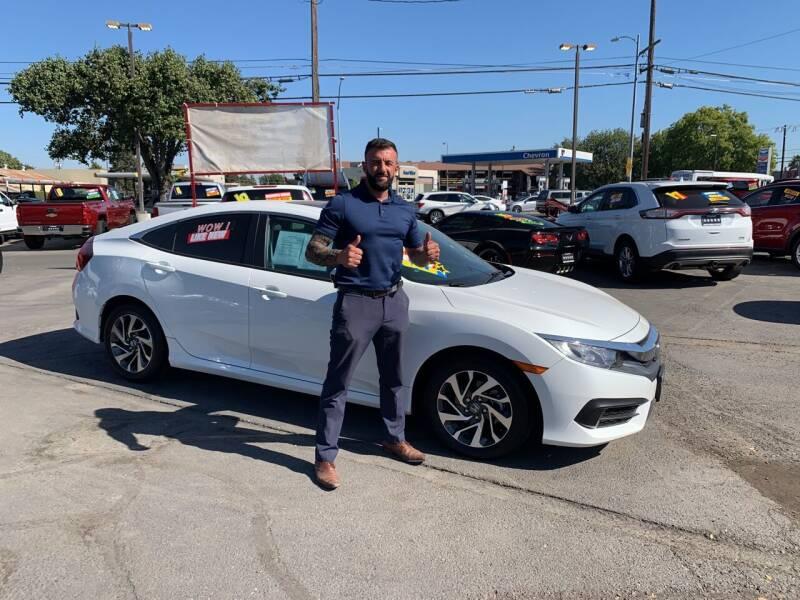 2016 Honda Civic for sale at 5 Star Auto Sales in Modesto CA