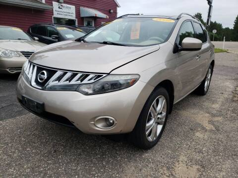2009 Nissan Murano for sale at Hwy 13 Motors in Wisconsin Dells WI