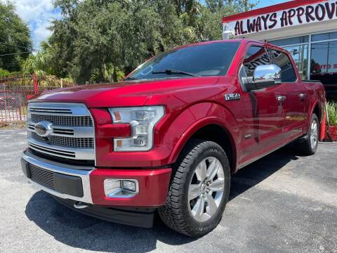 2017 Ford F-150 for sale at Always Approved Autos in Tampa FL