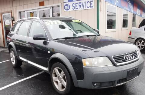 2005 Audi Allroad for sale at 777 Auto Sales and Service in Tacoma WA