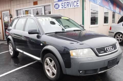 2005 Audi Allroad for sale at 777 Auto Sales and Service in Tacoma WA