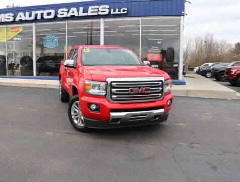2015 GMC Canyon for sale at Williams Auto Sales, LLC in Cookeville TN