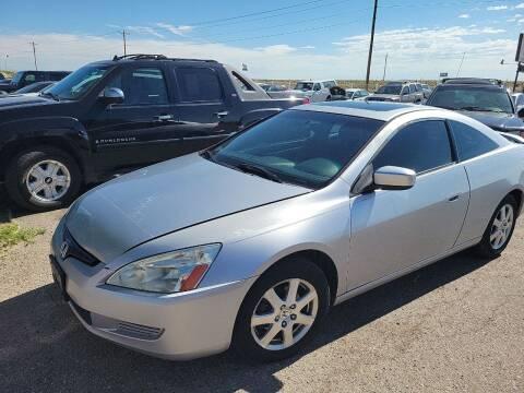2005 Honda Accord for sale at PYRAMID MOTORS - Pueblo Lot in Pueblo CO